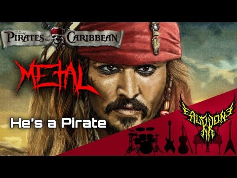 Pirates of the Caribbean  Hes a Pirate 【Intense Symphonic Metal 】 【98k Special】