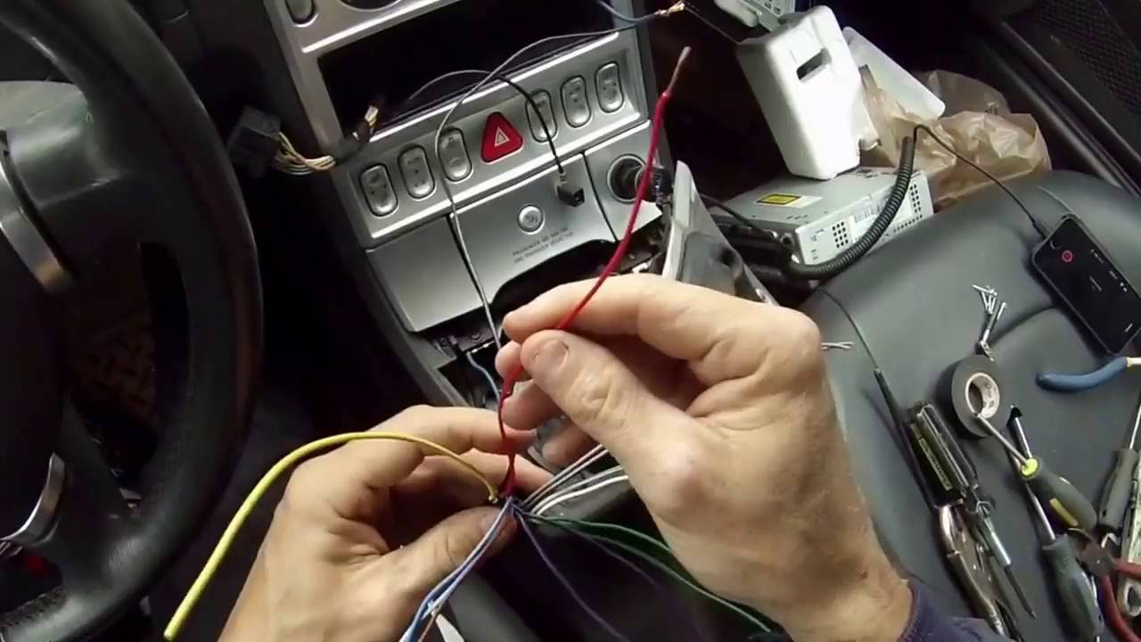 installing a kenwood stereo in my 2004 crossfire