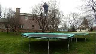 Full In Back Out (1080p HD) 360 Double Backflip