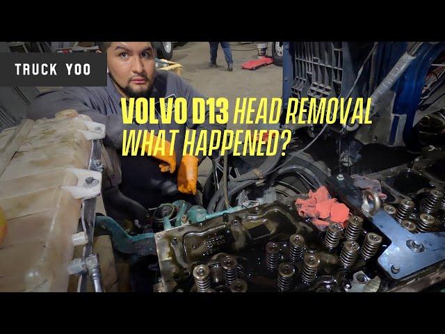Volvo D13 Head Gasket Leak. What Happened?