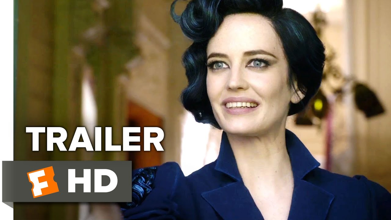 miss peregrine's home for peculiar children official trailer #1