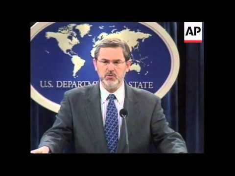 US announces aid for Yugoslavia following Milosevic's arrest
