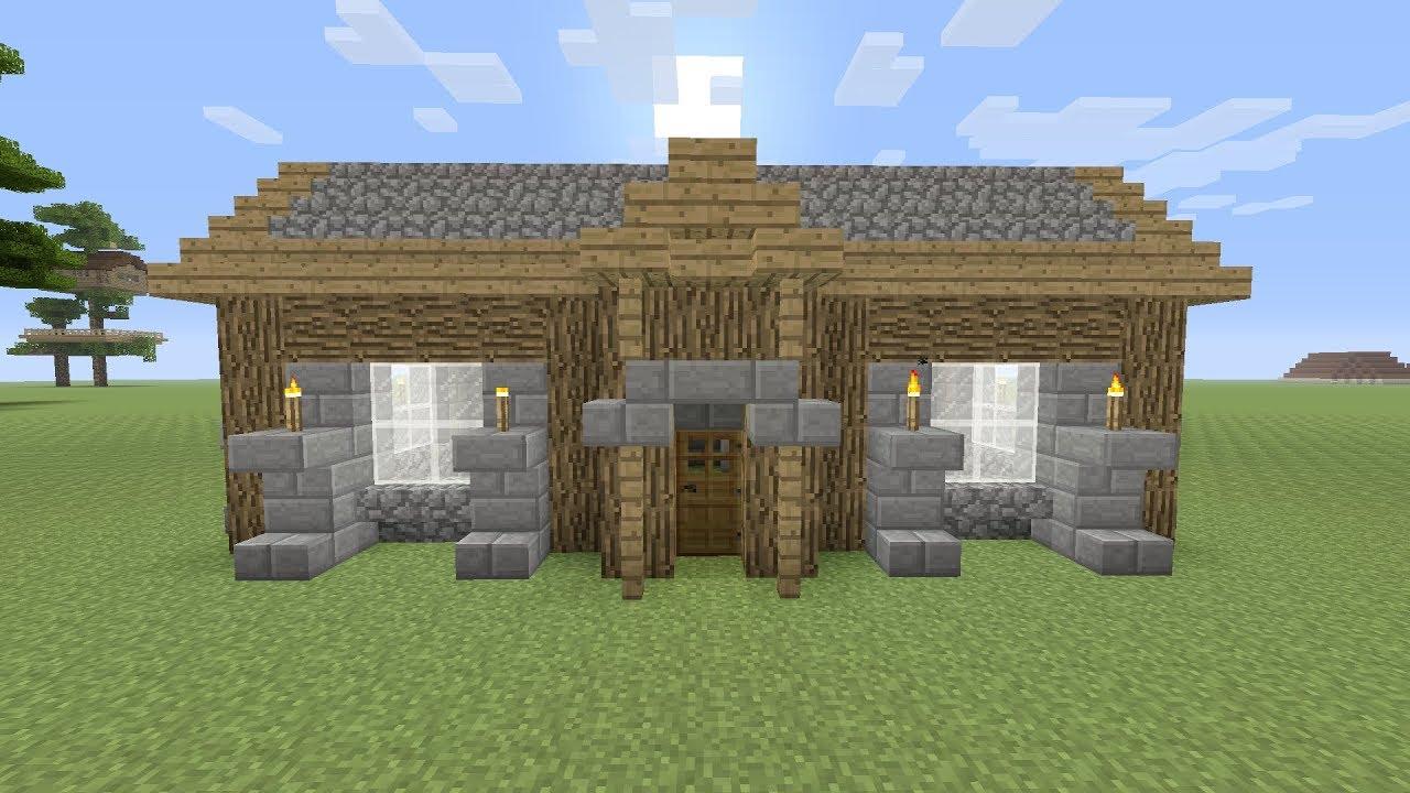 Minecraft een makkelijke beginners huis maken youtube for Huis maken minecraft
