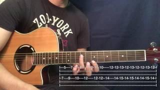 Danza de los Mirlos -  Tutorial Guitarra