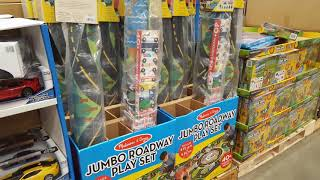 Costco Jumbo Roadway Playset  (Kids Activity Rug + 40 Wood cars and town pieces!)$39!!!