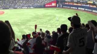【大阪CLASSIC2013】近鉄バファローズ復刻 ハーマンリベラ(タフィローズ)選手応援歌 20130421