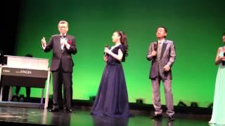 朗読劇とガラコンサート、二部構成ラストのアンコール素晴らしい舞台で...