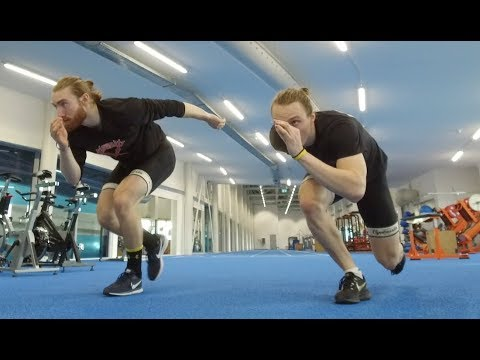 FULL LENGTH Speed Skating Dryland Workout!!!