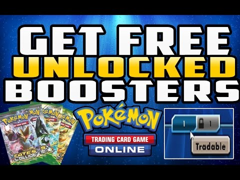 How To Get Free Unlocked Booster Packs In Pokemon TCG Online