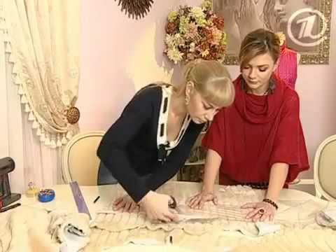 Как сшить меховое манто своими руками