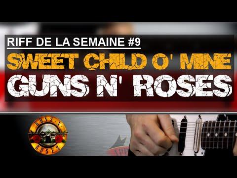 Apprendre Sweet Child O' Mine de Guns N' Roses à la guitare