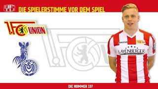 Lennard Maloney vor dem Spiel gegen Duisburg