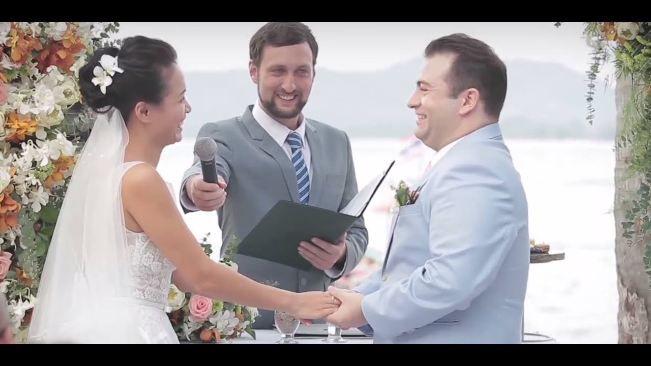 Phuket Marriage Celebrant Officiant Emcee Thailand - Highlight Sampler Film