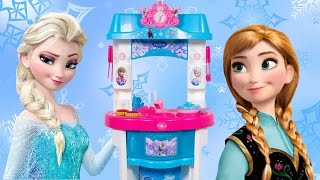 ❤ FROZEN Kitchen Toy Smoby ❤ Toy Cutting Food Frozen Mini Kitchen Frozen Küche Cocinita Toy Food