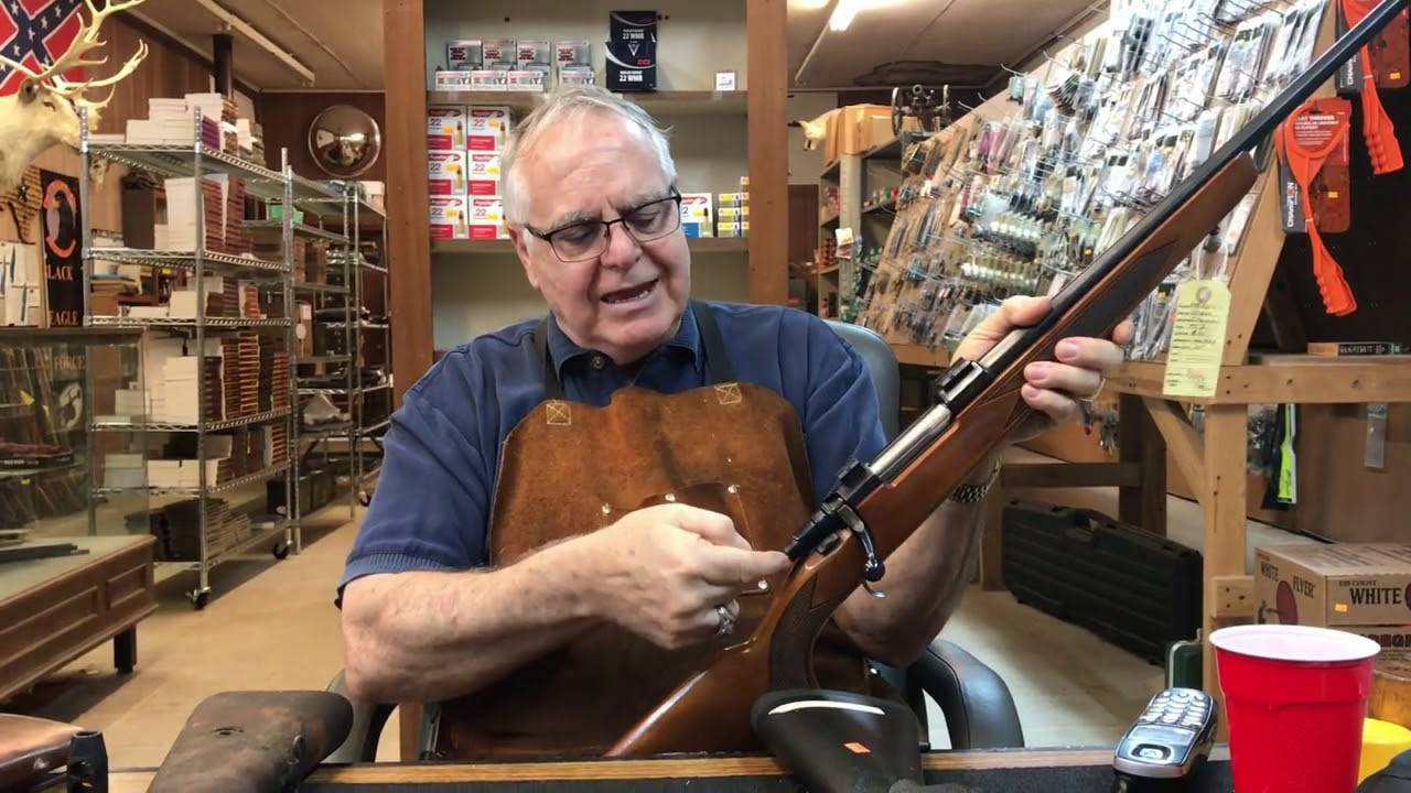 Explaining Glass Bedding A Rifle With Uncle Buck - Buck Master Gunsmith