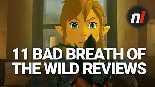 11 Hilariously Bad Reviews for The Legend of Zelda: Breath of the Wild