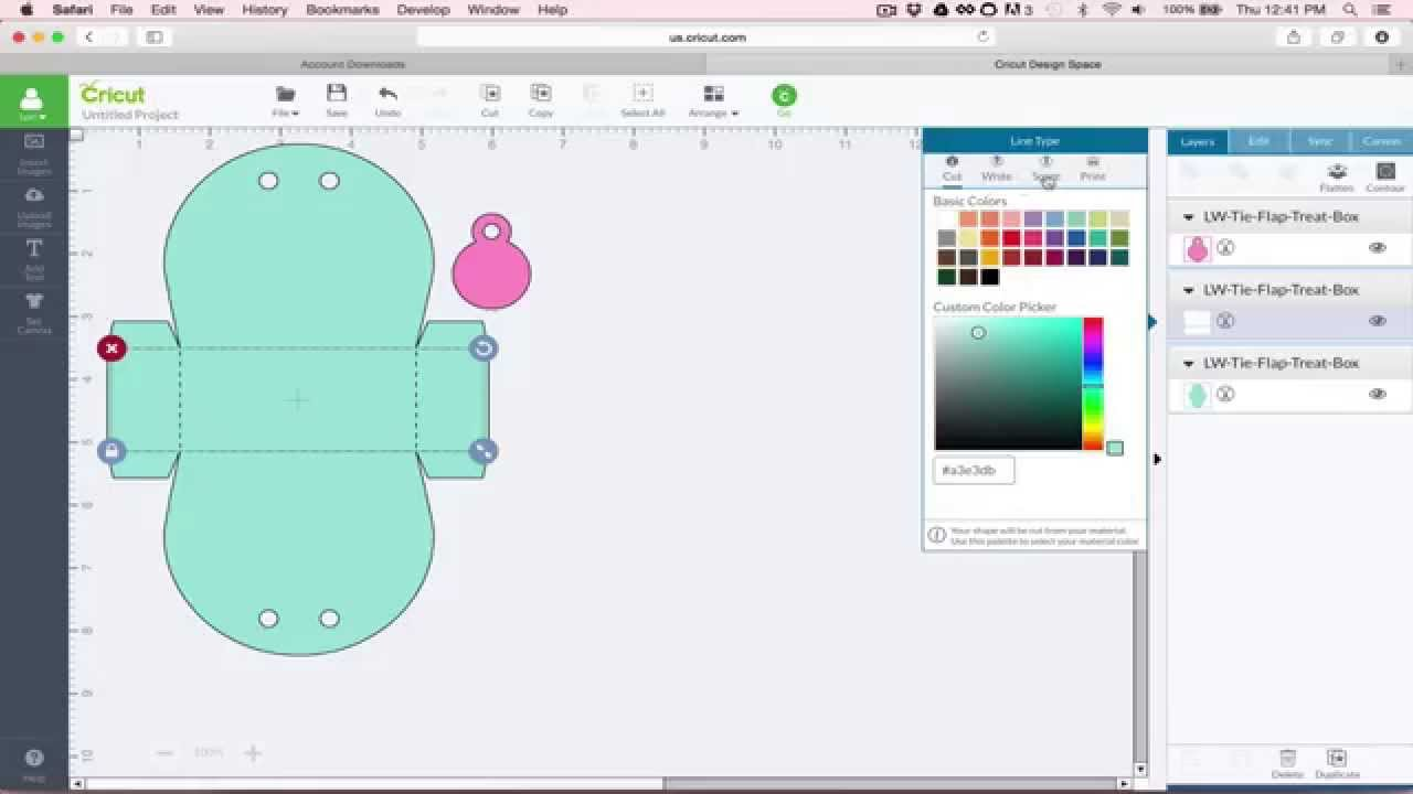 Download SVG files and Cricut Explore - YouTube