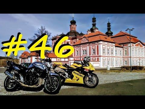 Český Motovlog #46 - ,,Jedu včas / Jsem jednička / Bezvadná projížďka / Atentát na mě!!,,
