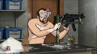 Krieger Doing Some Gun Mods on Archer