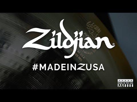 How A Zildjian Cymbal Is Made - #MADEINZUSA