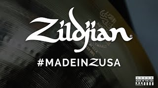 How A Zildjian Cymbal Is Made - #MADEINZUSA