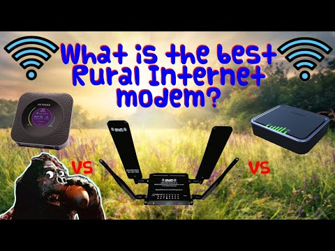The Best Cellular Modem for Fast Rural Internet..