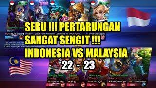 Download Video SERU BANGET !!! Pertarungan Sangat Sengit !!! INDONESIA VS MALAYSIA Arena Contest MP3 3GP MP4