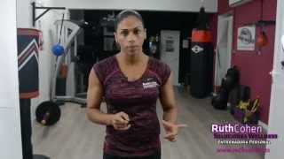 Técnica de zancada, lunge, estocada correcta, cómo hacer una zancada, ejercicio piernas   Ruth Cohen