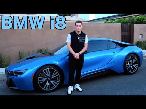 RACING IN THE BMW i8! - Super Car