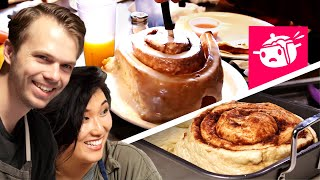 We Tried To Re-Create This Giant Cinnamon Roll thumbnail