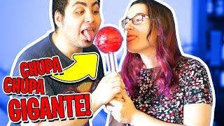 CHUPA CHUPS GIGANTE! LYON VS ANNA