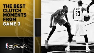 KD's Big 3 And The Best 4th Quarter Clutch Moments From Game 3