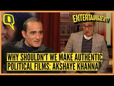 Why Shouldn鈥檛 We Make Authentic Political Films: Akshaye Khanna