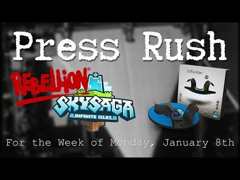 Rebellion Software, CES, and GCDA 2018 | Press Rush Jan' 8 2018