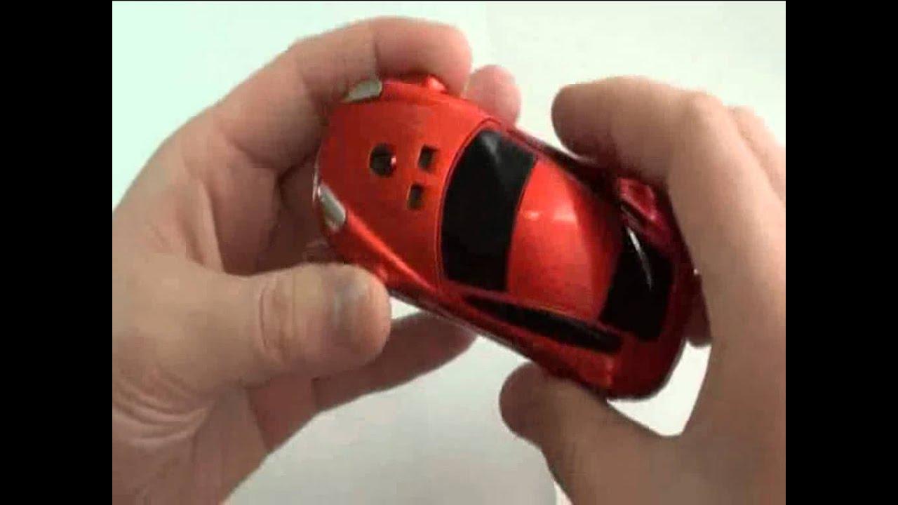 d7c340af70 Celular Formato de Carro Ferrari - YouTube