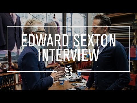 Speaking Style With Edward Sexton | Interview With Savile Row Legend