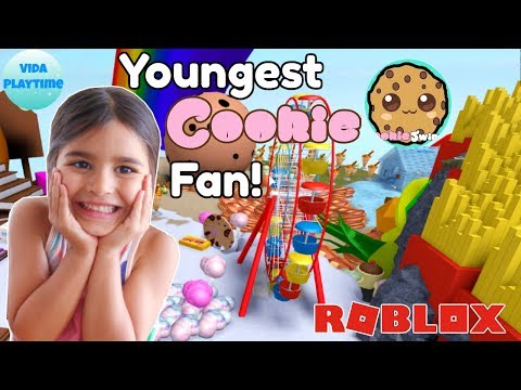 Cookieswirlc Sweet Land Roblox Played By 4yr Old Youngest Cookie
