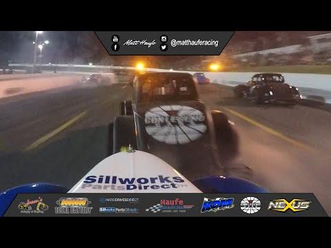 Sunset Speedway Velocity Weekend A-Main Ontario Legends Feature Race September 21 2019 Matt Haufe #7