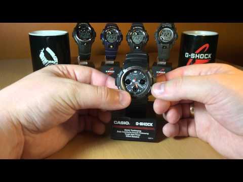Обзор и настройка Casio G shock AWG - 101-1A  [4765]