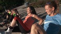 Saija Palin testaa Kangoo Jumps kengät - hauskaa kuin diskossa lauantai-iltana!