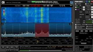 Radio Bangladesh Betar on 15505 kHz + Interval signal