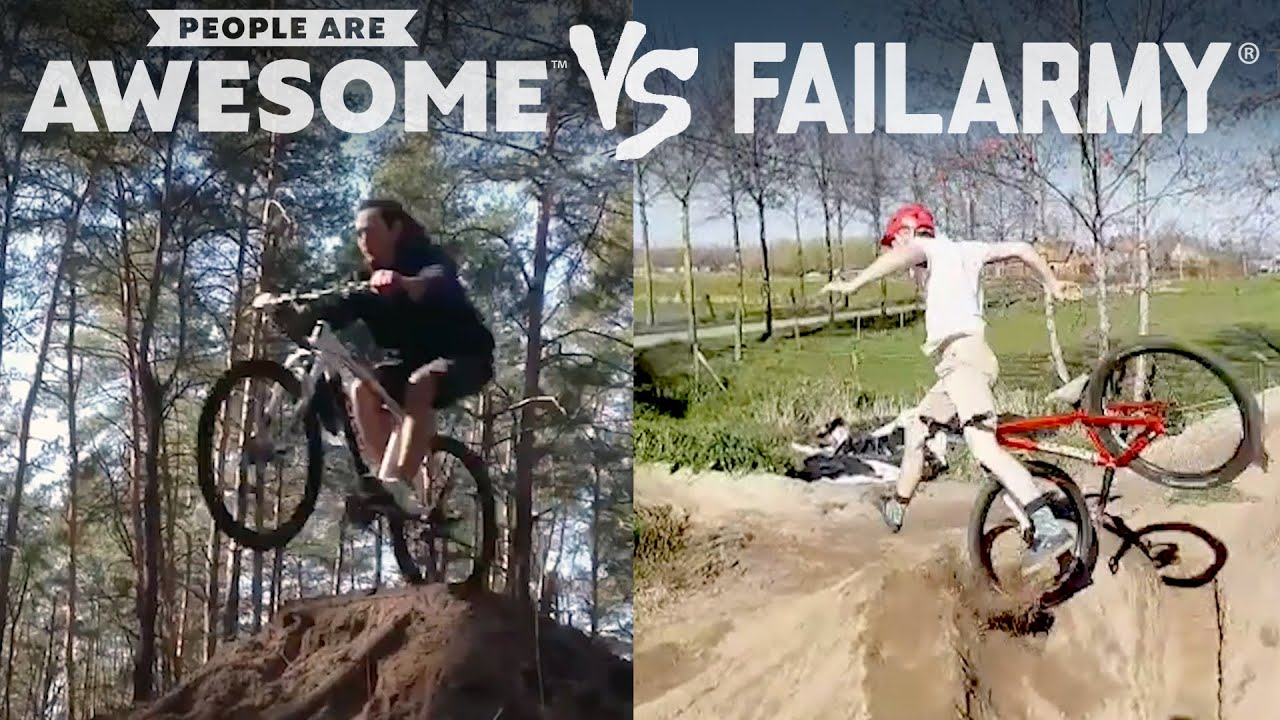 Biking, Skateboarding & More | People Are Awesome Vs. Fai...