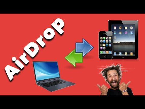 How to Airdrop Files From PC to iPhoneiPadiPod 2017
