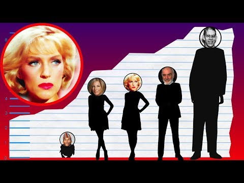How Tall Is Majel Barrett? - Height Comparison!