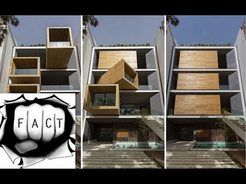 Sharifi ha House - 90 Degree Rotating Room | Tehran