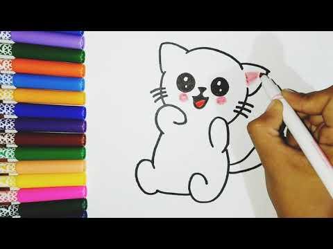 cómo-dibujar-un-gatito-kawaii---how-to-draw-cute-cat