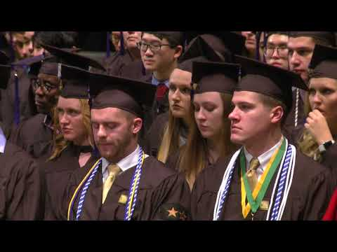 University of Iowa Tippie College of Business Commencement - December 16, 2017