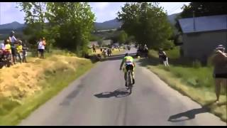 Descenso de Peter Sagan Tour de Francia Etapa 16