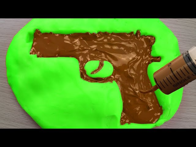 DIY Chocolate Nerf Gun