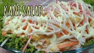 HOW TO MAKE KANI SALAD RECIPE  CRAB MEAT SALAD